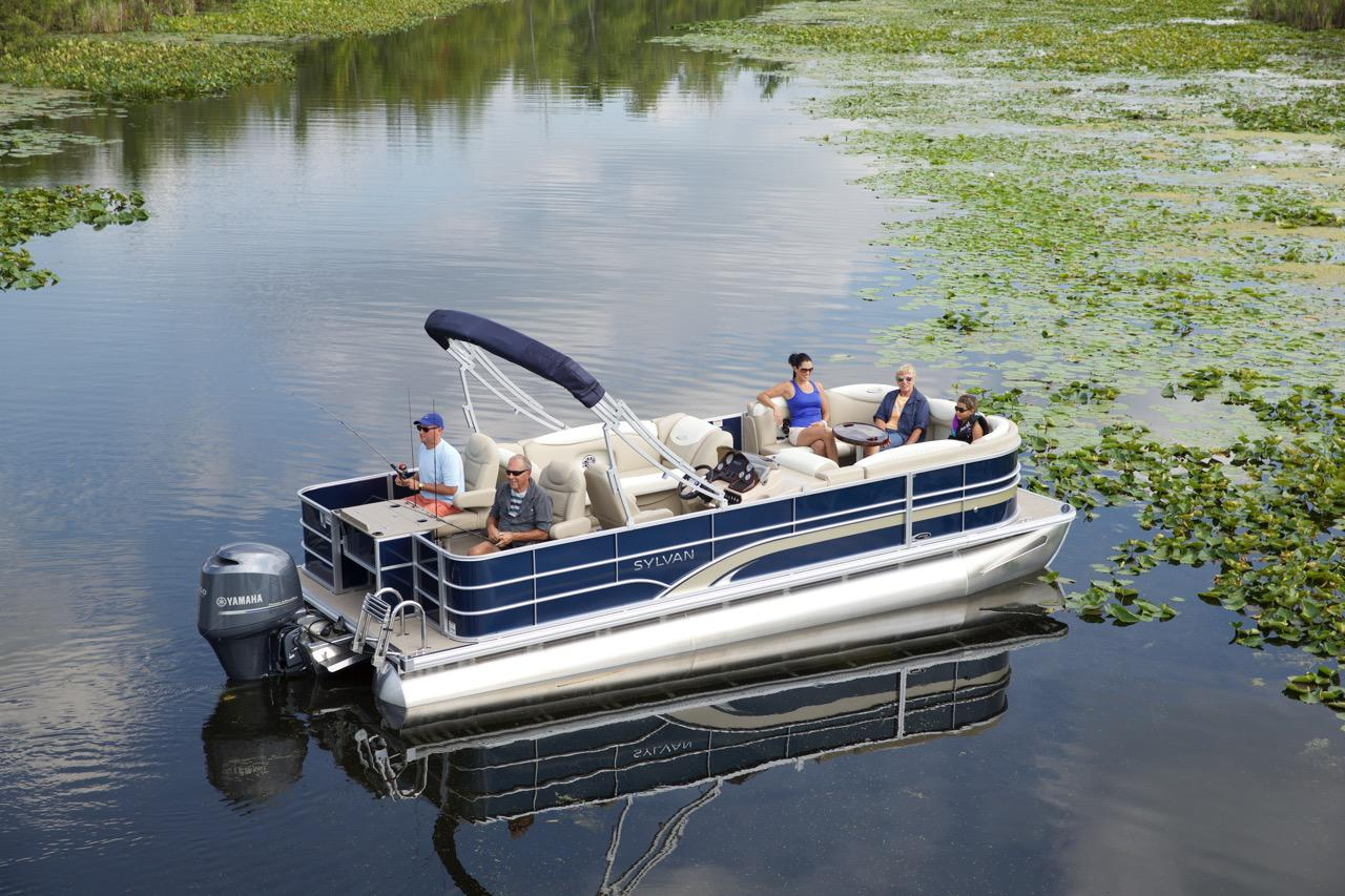 Berkshire manitou qwest starcraft sunchaser sylvan for Best fishing pontoon